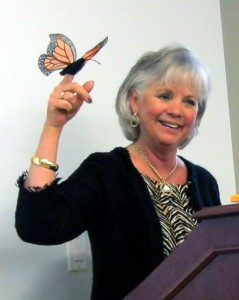 GCKY President Joanna Kirby Promotes Her Special Project - Monarch Waystations!