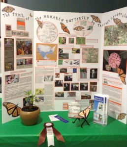 Educational Exhibit on the Monarch Butterfly