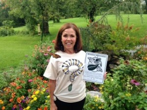 SHGC Member has her own Monarch Waystation!
