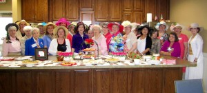 Bardstown GC members sporting our Derby Hats at our Derby Tea