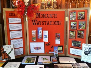 Monarch Waystations Educational Exhibit