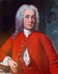 Portrait of Carl Linnaeus